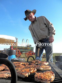 Kent Rollins and his Red River Chuck Wagon